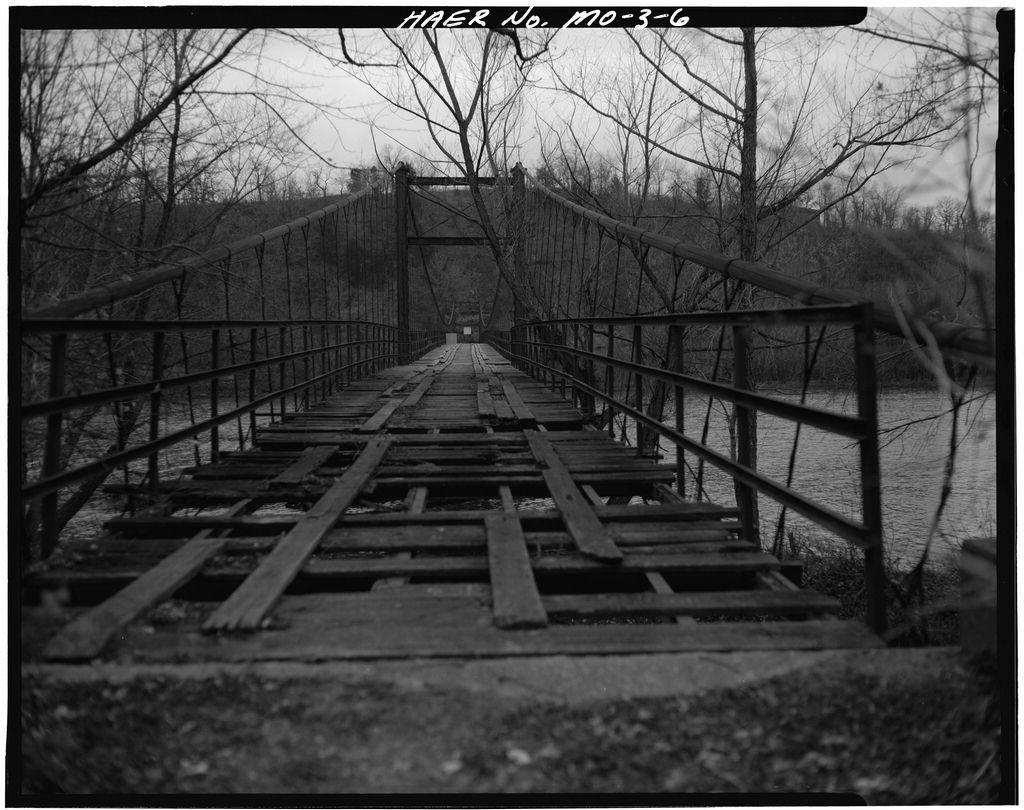 Middle Bridge, Spanning Osage River, Warsaw, Benton County, MO