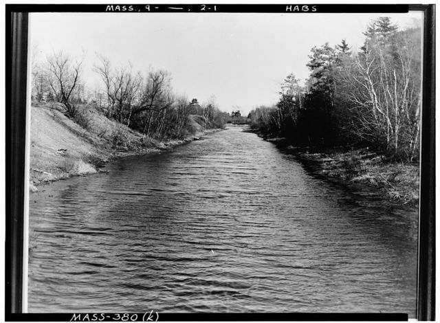 Middlesex Canal, North Billerica, Middlesex County, MA