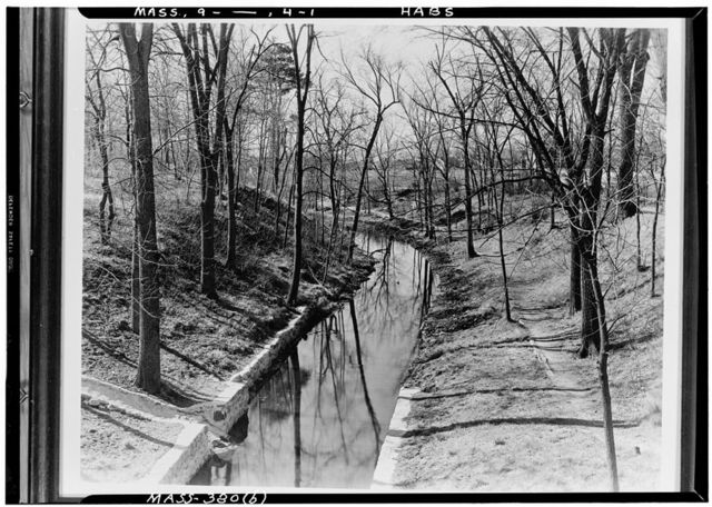 Middlesex Canal, School Street, North Woburn, Middlesex County, MA