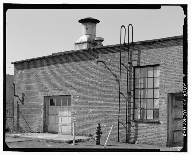 Middlesex Sampling Plant, Boiler House, 239 Mountain Avenue, Middlesex, Middlesex County, NJ