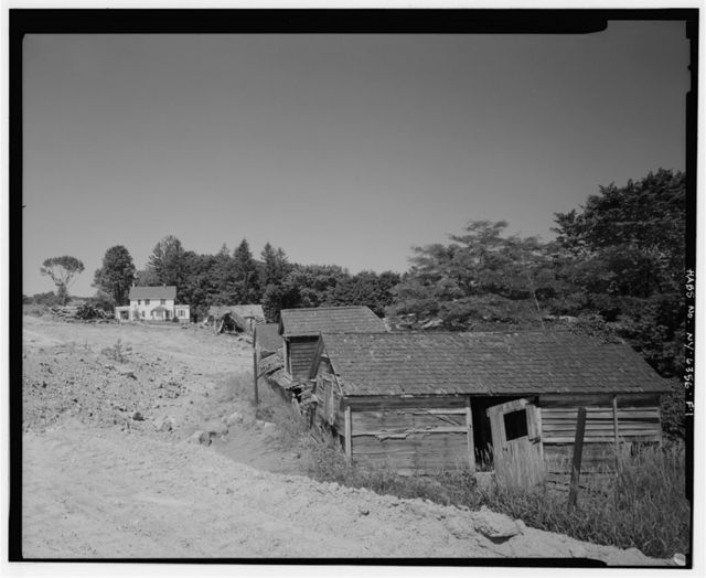 Migel Estate & Farm, East Poultry Shed, Along private drive, .3 mile northeast of intersection of Mombasha Road & Orange Turnpike, Monroe, Orange County, NY