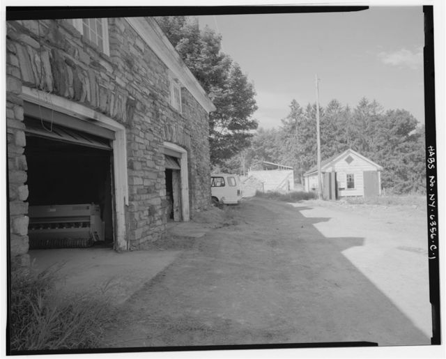 Migel Estate & Farm, Repair Shed & Stable, Along private drive, .1 mile northeast of intersection of Mombasha Road & Orange Turnpike, Monroe, Orange County, NY