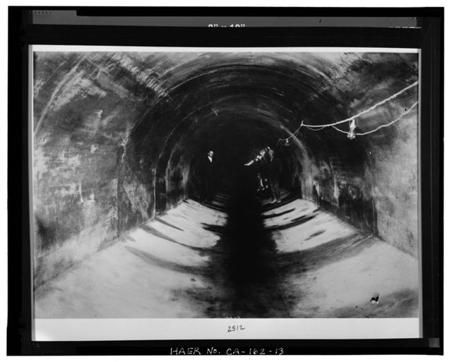 Mile Rock Tunnel, Under Forty-eighth Avenue from Cabrillo Street to San Francisco Bay at Point Lobos, San Francisco, San Francisco County, CA