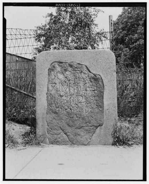 Milestones HH & II, Harvard Street, Brighton, Suffolk County, MA