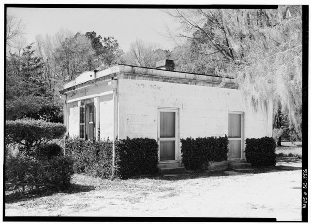 Milford Plantation, Accessory Building, Wedgefield-Rimini Road, Pinewood, Sumter County, SC