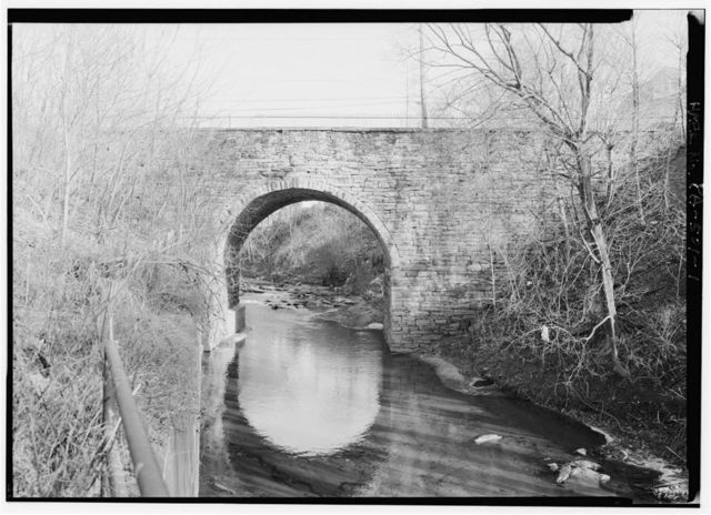 Mill Creek Bridge, Spanning Mill Creek at River Street (State Route 2004), Wilkes-Barre, Luzerne County, PA