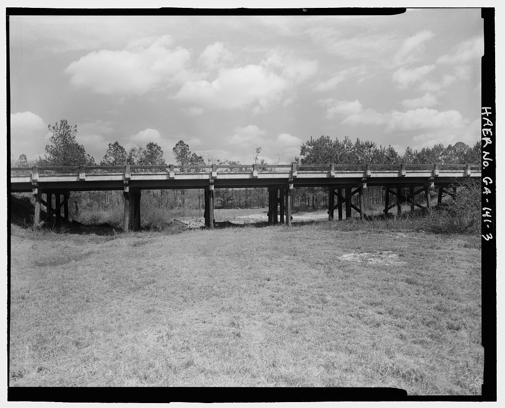 Mill Creek Bridge, State Highway 31/U.S. 441 spanning Mill Creek, Pridgen, Coffee County, GA