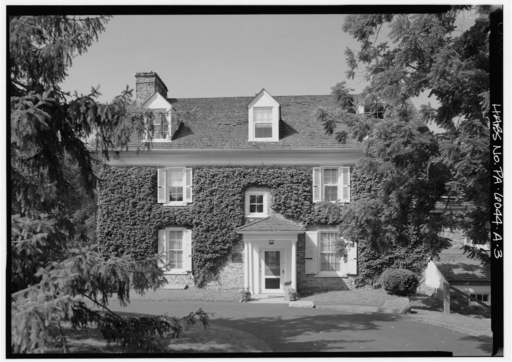 Mill Grove, House, Pawling Road, Audubon, Montgomery County, PA