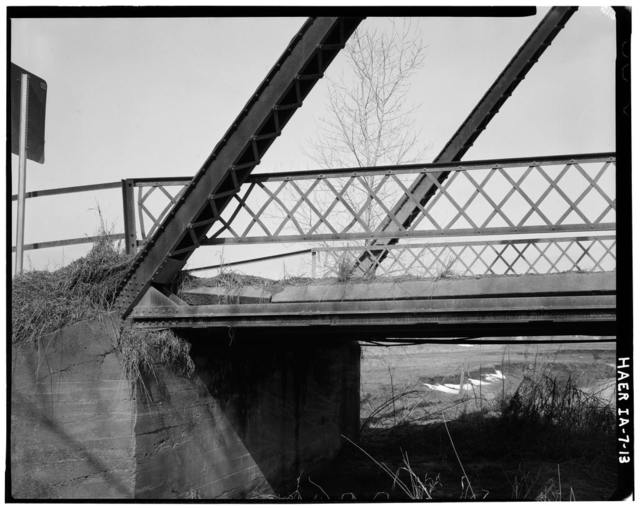 Mill Rock Bridge, Spanning Big Bear Creek, Monmouth, Jackson County, IA