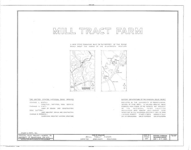 Mill Tract Farm, Mill Road (Exeter Township), Stonersville, Berks County, PA