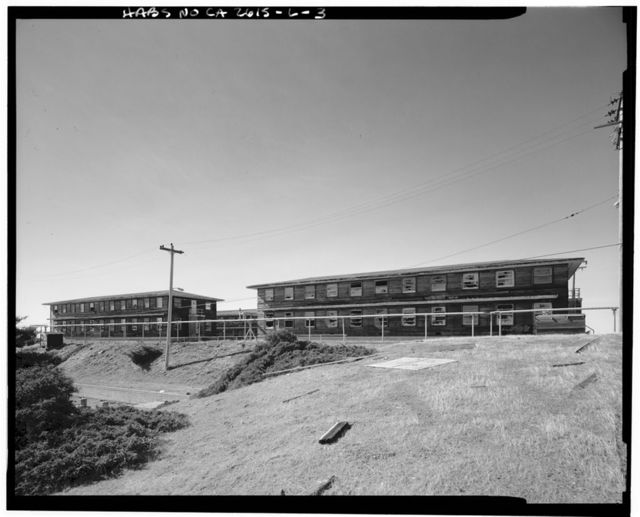 Mill Valley Air Force Station, Bachelor Airmen Quarters, East Ridgecrest Boulevard, Mount Tamalpais, Mill Valley, Marin County, CA
