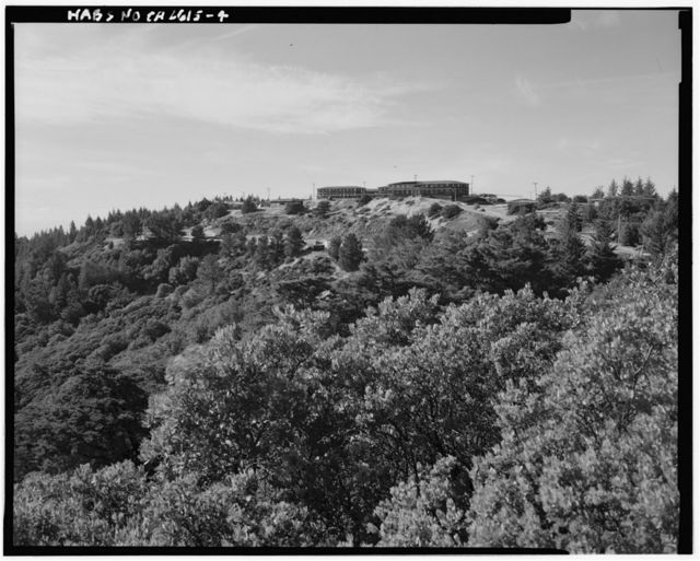 Mill Valley Air Force Station, East Ridgecrest Boulevard, Mount Tamalpais, Mill Valley, Marin County, CA