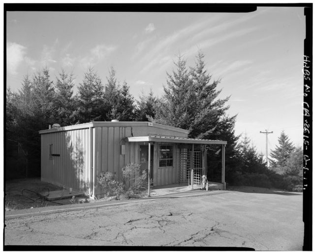 Mill Valley Air Force Station, Guard Building, East Ridgecrest Boulevard, Mount Tamalpais, Mill Valley, Marin County, CA