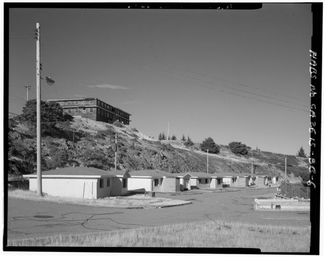 Mill Valley Air Force Station, Military Family Housing, East Ridgecrest Boulevard, Mount Tamalpais, Mill Valley, Marin County, CA