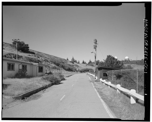 Mill Valley Air Force Station, Sewage Ejector, East Ridgecrest Boulevard, Mount Tamalpais, Mill Valley, Marin County, CA
