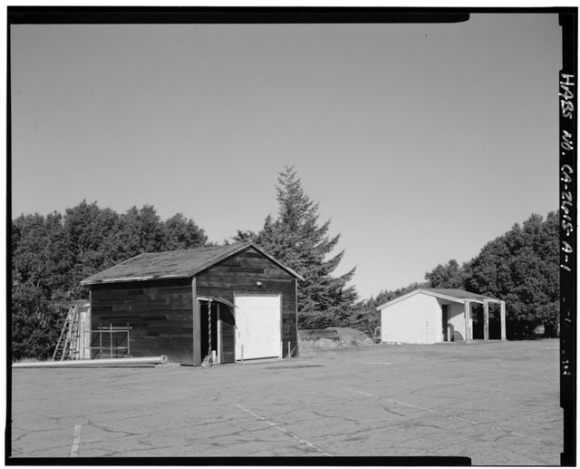 Mill Valley Air Force Station, Storage Building Types, East Ridgecrest Boulevard, Mount Tamalpais, Mill Valley, Marin County, CA
