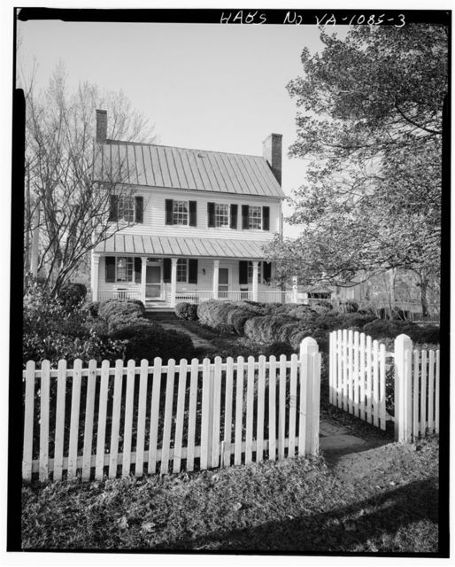 Miller-Claytor House, Miller-Claytor Lane & Treasure Island Road, Lynchburg, Lynchburg, VA