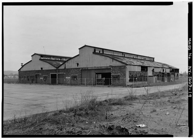 Miller Field, North Hangar, New Dorp Lane, Staten Island, New Dorp, Richmond County, NY
