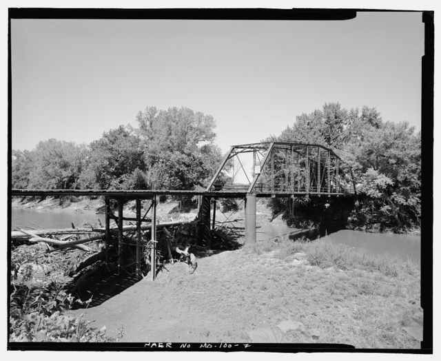 Miller Ford Bridge, Spanning Grand River at County Road 469, McFall, Gentry County, MO