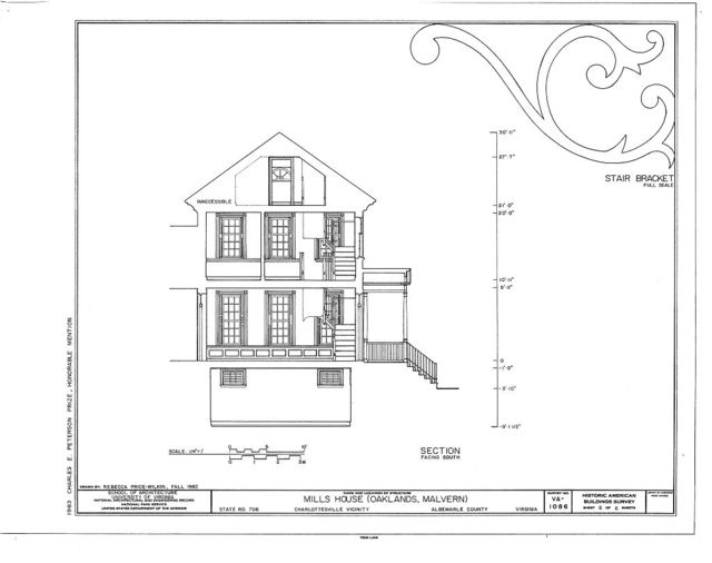 Mills House, State Route 708, Charlottesville, Charlottesville, VA