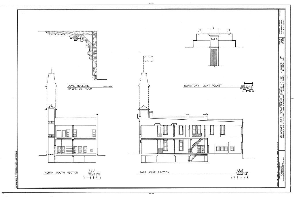 Milwaukee Fire Department, Engine House Number 27, 2647 North Bartlett Avenue, Milwaukee, Milwaukee County, WI
