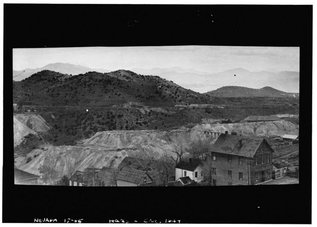 Mine, General View, Virginia City, Storey County, NV