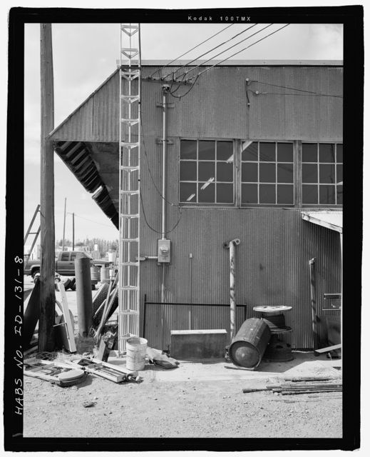 Minidoka Relocation Center Warehouse, 111 South Fir Street, Shoshone, Lincoln County, ID