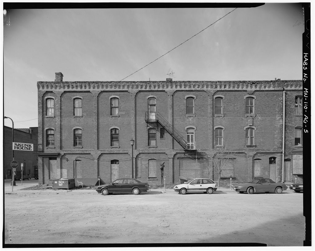 Minneapolis Warehouse District, Foster House, 110 North First Street, Minneapolis, Hennepin County, MN