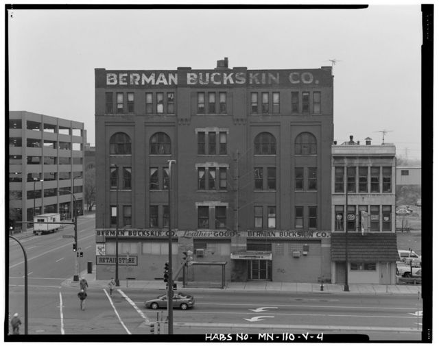 Minneapolis Warehouse District, Home Insurance Company Building, Hennepin Avenue at North First Street, Minneapolis, Hennepin County, MN