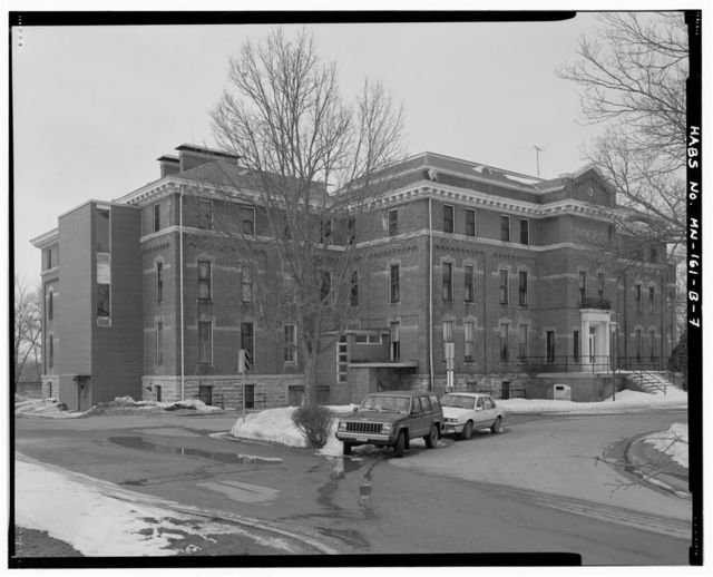 Minnesota State Academy for the Blind, Dow Hall, 400 Sixth Avenue, Southeast, Faribault, Rice County, MN