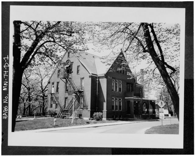 Minnesota Veterans Home Complex, Domiciliary,No. 4, 5101 Minnehaha Avenue, South, Minneapolis, Hennepin County, MN