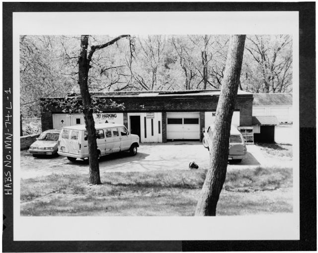 Minnesota Veterans Home Complex, Paint Shop & Garage, 5101 Minnehaha Avenue, South, Minneapolis, Hennepin County, MN