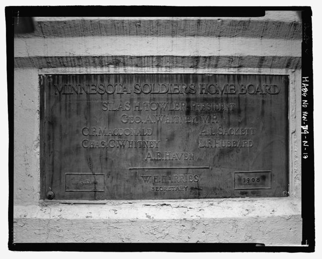 Minnesota Veterans' Home Complex, Steel Bridge, 5101 Minnehaha Avenue, South, Minneapolis, Hennepin County, MN