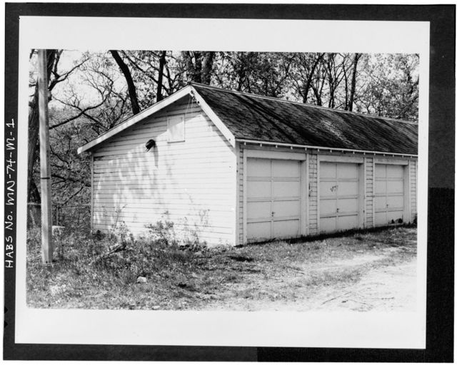 Minnesota Veterans Home Complex, Ten Stall Garage, 5101 Minnehaha Avenue, South, Minneapolis, Hennepin County, MN