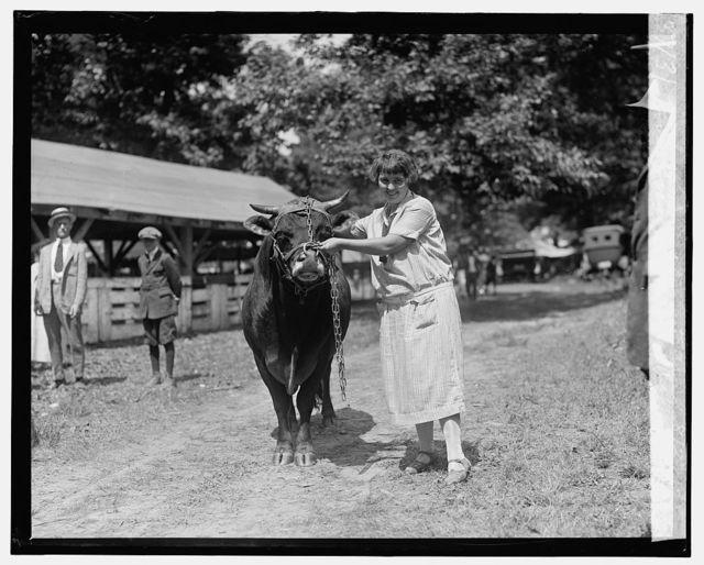 Miss Grace Shaefer, Rockville Fair, 8/27/25