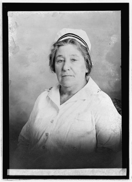 Miss Samantha Plummer, oldest nurse U.S. Army, 3/11/26