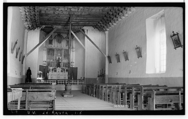 Mission Church of Ranchos de Taos, Ranchos de Taos, Taos County, NM