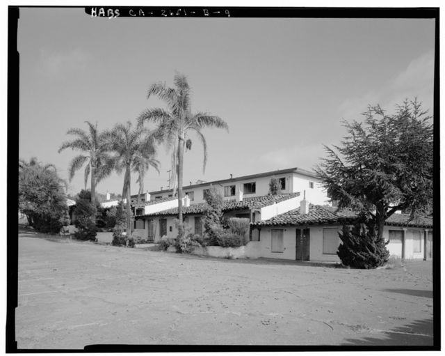 Mission Motel, South Court, 9235 MacArthur Boulevard, Oakland, Alameda County, CA