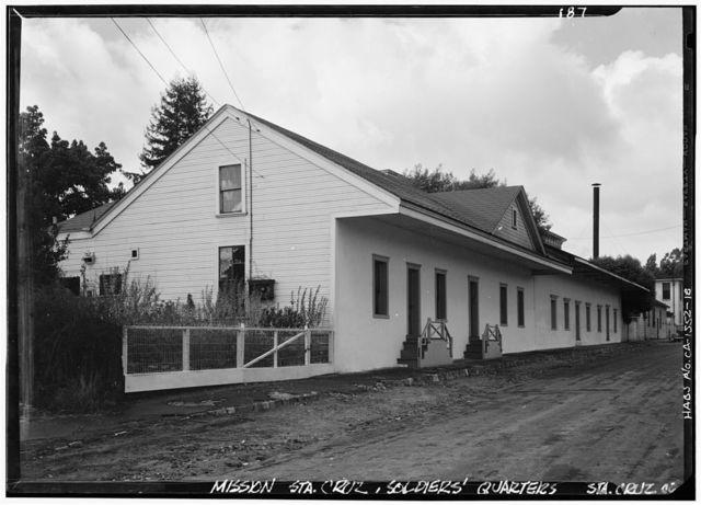 Mission Santa Cruz, Emmet & School Streets, Santa Cruz, Santa Cruz County, CA