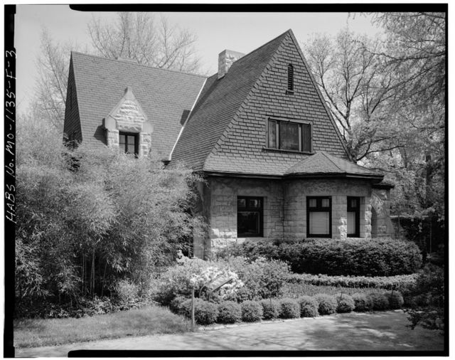 Missouri Botanical Garden, Cleveland Avenue Gatehouse, 2345 Tower Grove Avenue, Saint Louis, Independent City, MO