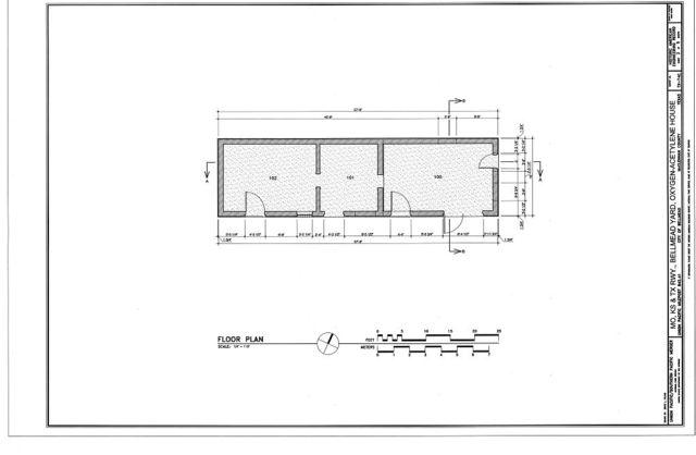 Missouri, Kansas & Texas (MKT) Railroad, Bellmead Yard, Fuel Storage Building, Bellmead, McLennan County, TX