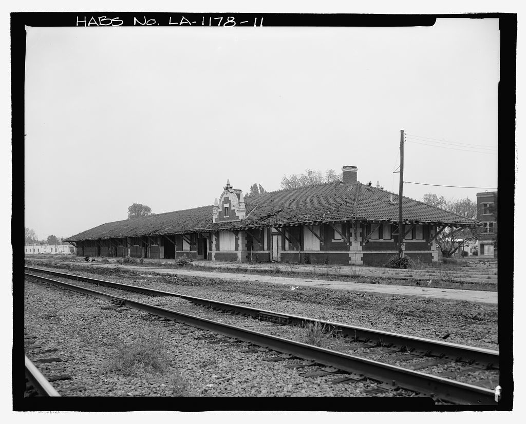 Missouri Pacific-Texas Pacific Railroad Station, Tenth & Jackson Streets, Alexandria, Rapides Parish, LA