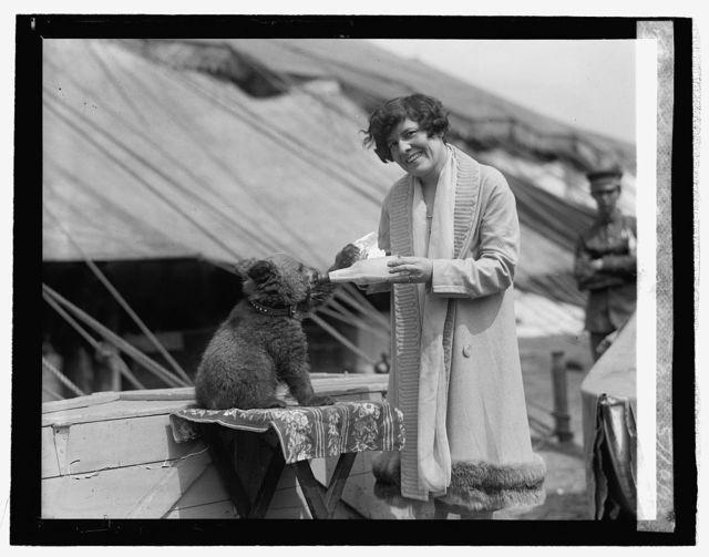 Mme. Cato Pallenberg & bear, 5/10/26