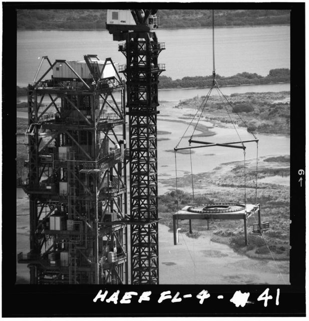 Mobile Launcher One, Kennedy Space Center, Titusville, Brevard County, FL