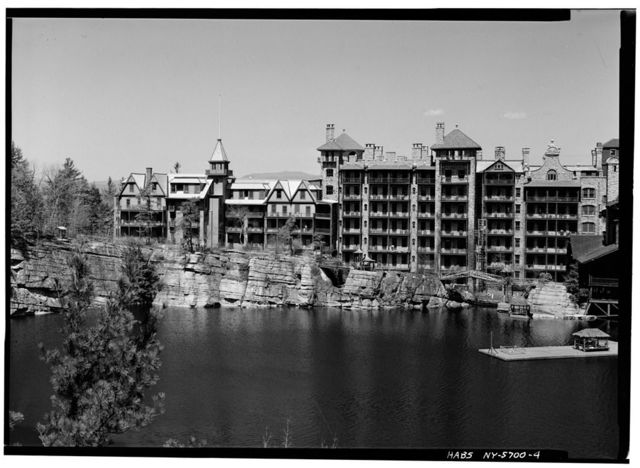 Mohonk Mountain House, Mountain Rest Road, New Paltz, Ulster County, NY