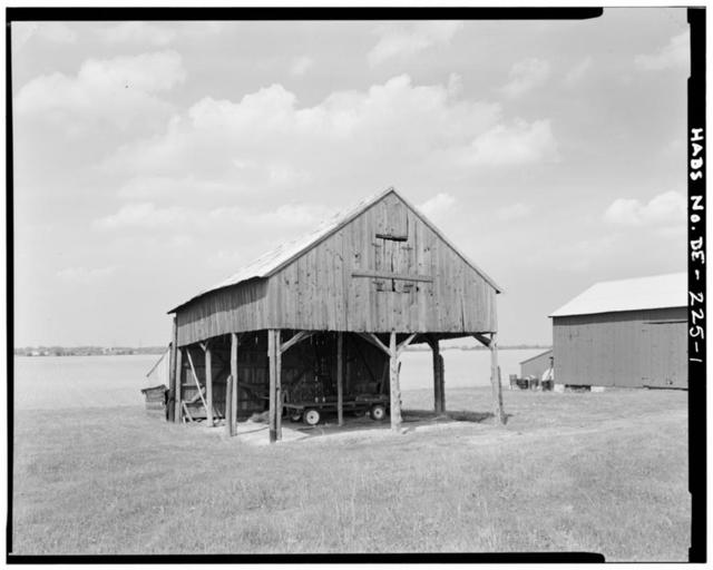 Mondamon Farm Barrack, Route 2, near Route 13, Biddles Corner, New Castle County, DE