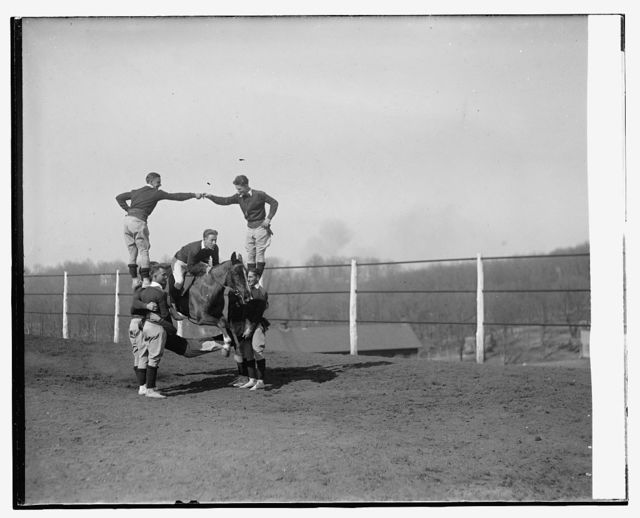 Monkey Drill, Ft. Myer, 3/13/29
