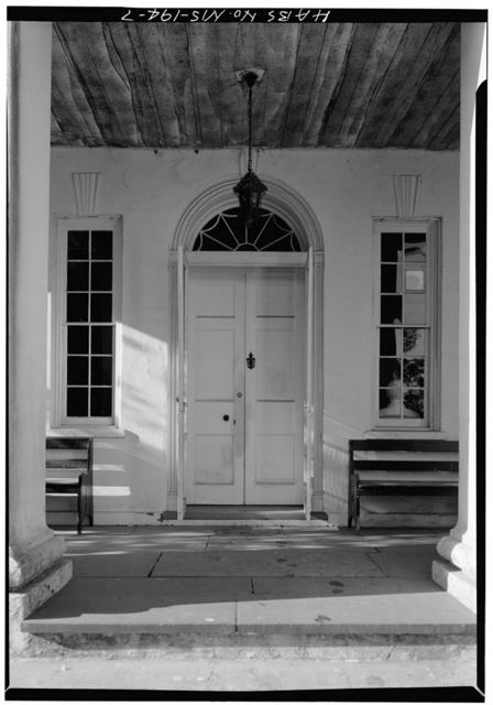 Monmouth House, East Franklin Street & Melrose Avenue, Natchez, Adams County, MS