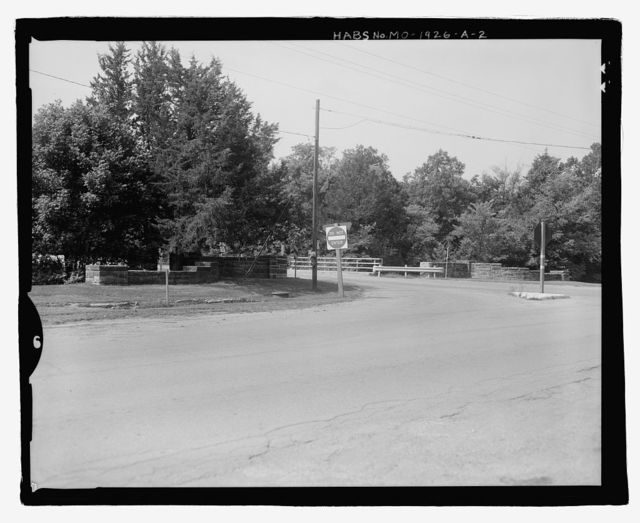 Montserrat Recreation Demonstration Area, Entrance Portal, Route 132, North Entrance, Knob Noster, Johnson County, MO