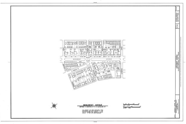 Monument Avenue, Richmond, Independent City, VA